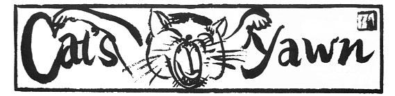 Cat's Yawn