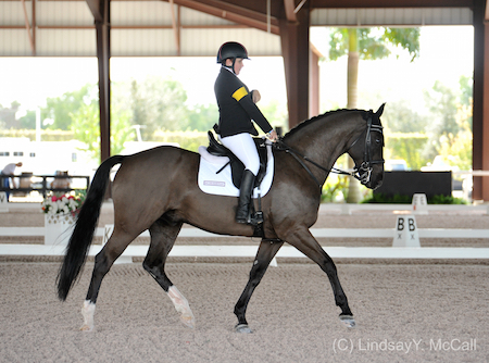 Sydney Collier (USA) And Wentworth. Photo (c) Lindsay Y. McCall
