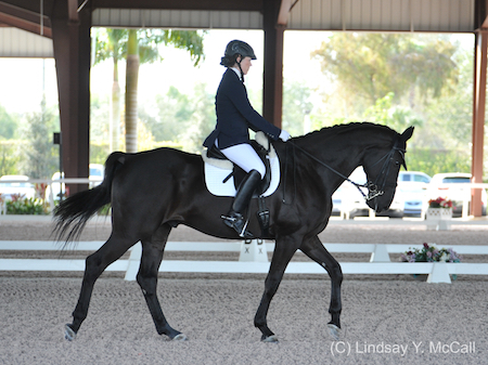 Roxanne Trunnell and NTEC Royal Dancer. Photo (C) Lindsay Y. McCall