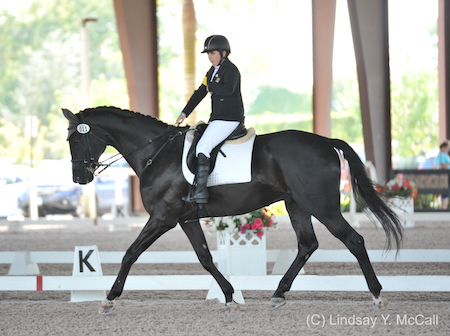 Sydney Collier and NTEC Roulette. Photo (C) Lindsay Y. McCall