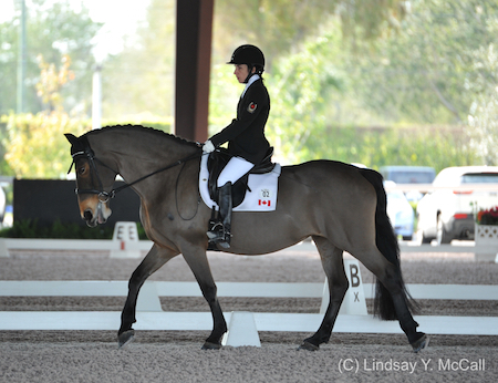 Robyn Andrews and Fancianna. Photo (C) Lindsay Y. McCall