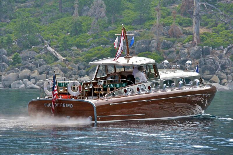 Thunderbird Is Not Only Reminiscent Of Lake Tahoe In The Golden Years She Still Impresses All Who Lay Eyes On Her And Hear Throaty Engines