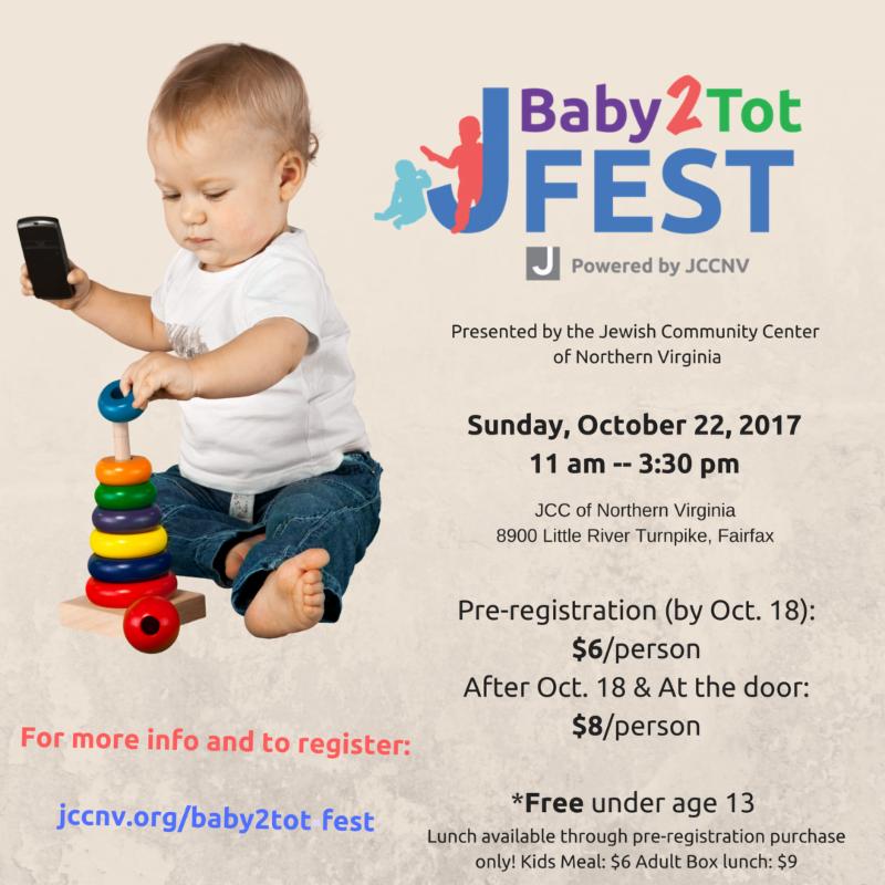 flyer for Baby2Tot Fest