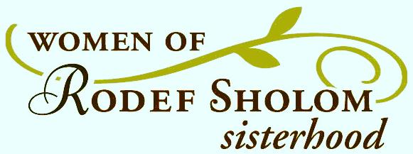 Women of Rodef Sholom Sisterhood logo