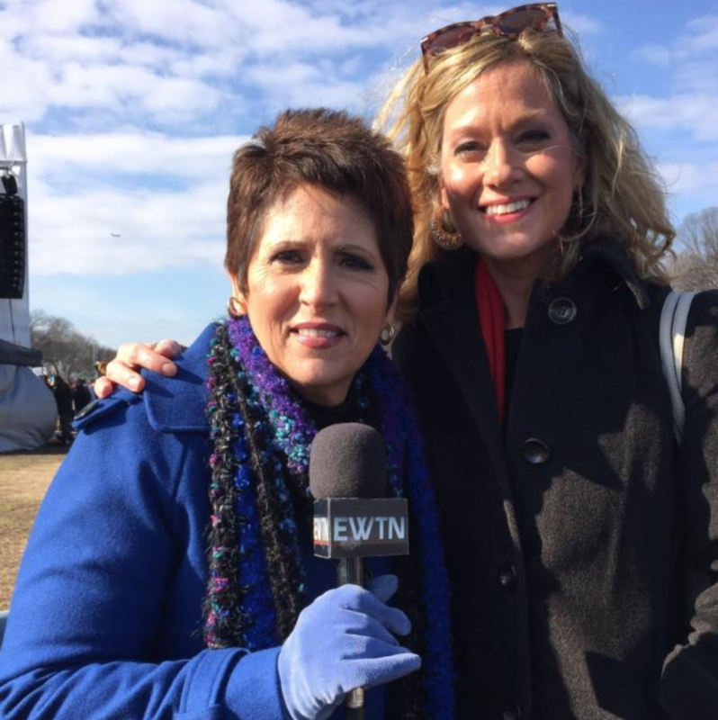 Teresa Tomeo Covering March For Life on EWTN