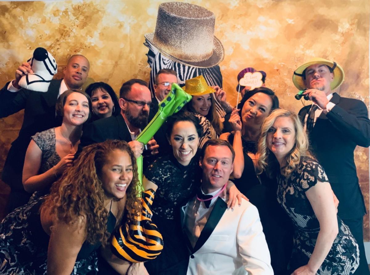 2020 Zebra Gala Photo Booth
