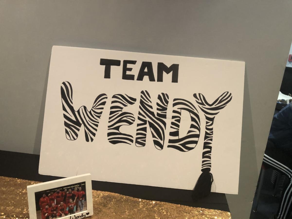 Zebra Gala 2020 team Wendy