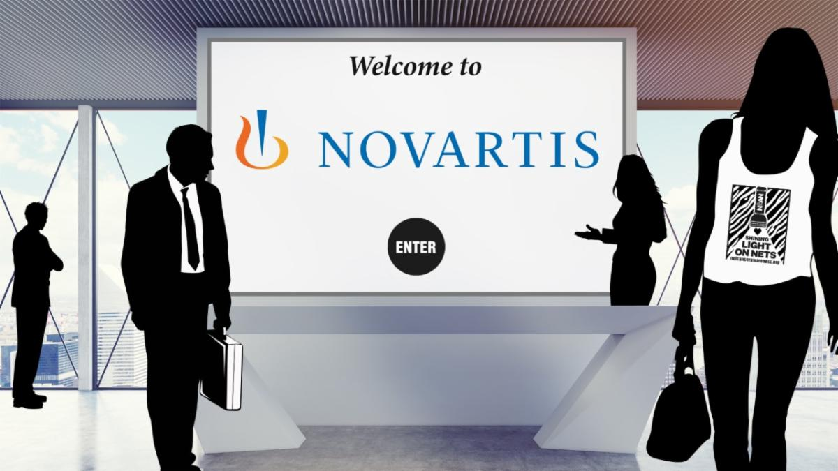 Novartis Virtual Booth