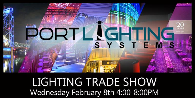 Trade show lighting systems