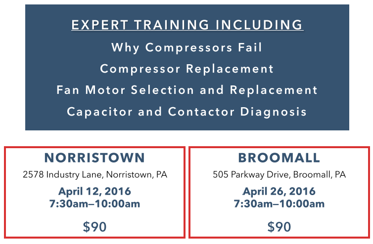 Apr 12 - HVAC Compressor and Motor Troubleshooting - Norristown