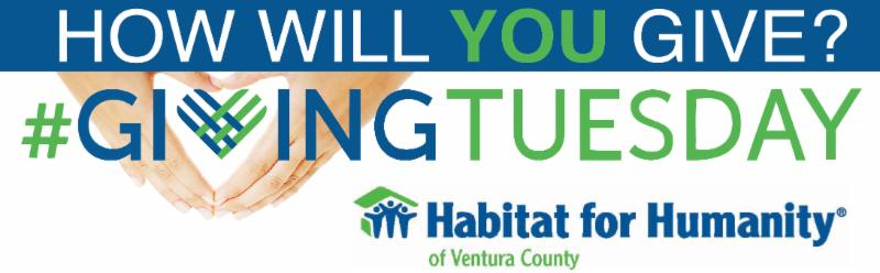 it 39 s giving tuesday habitat for humanity of ventura county. Black Bedroom Furniture Sets. Home Design Ideas
