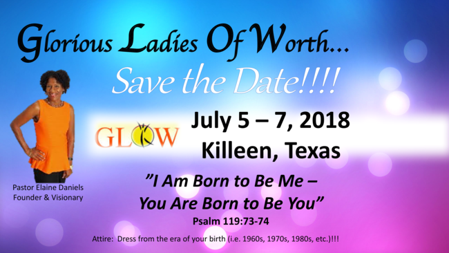 GLOW Women's Conference 2018