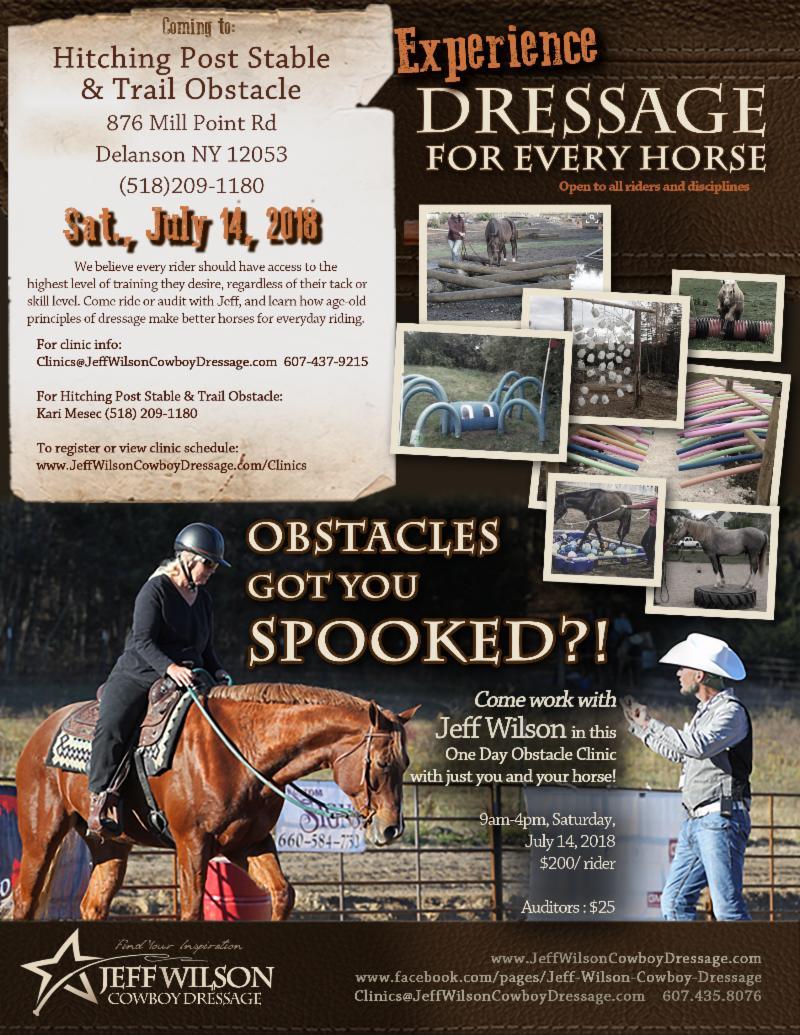Delanson, NY: Trail Obstacle Clinic