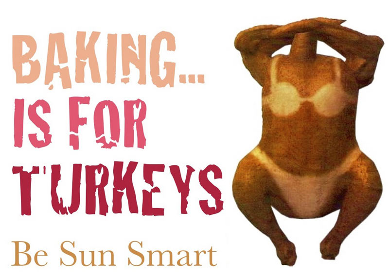 Baking is for turkeys...