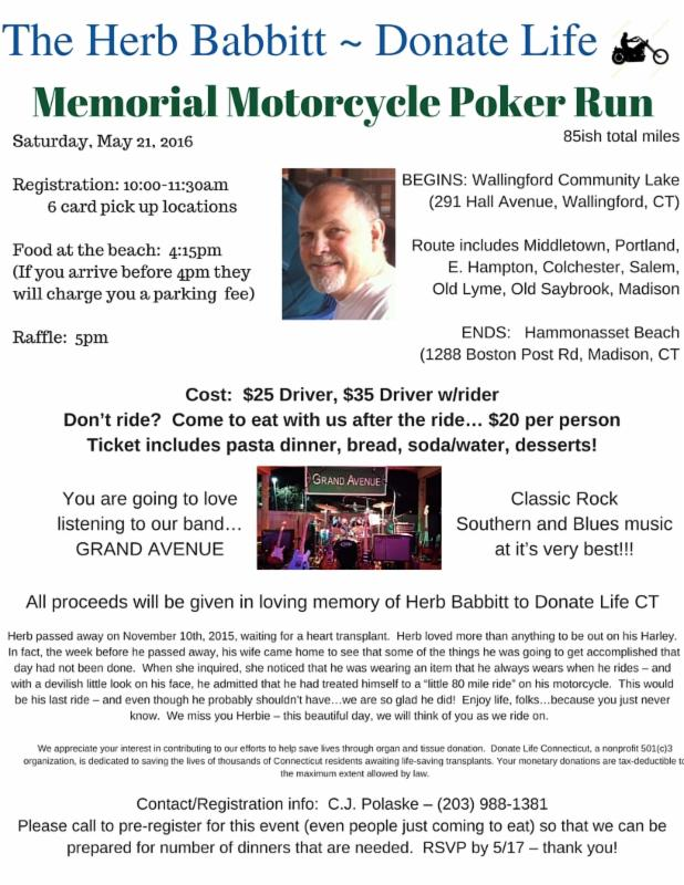 Mullins mile poker run