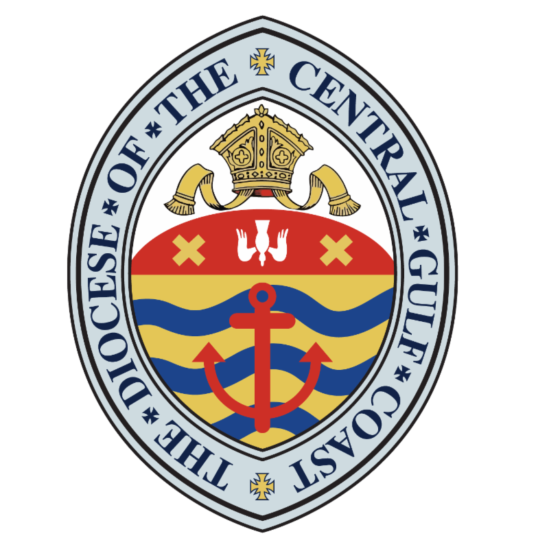Seal of the Episcopal Diocese of the Central Gulf Coast