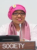 USICD International Advocate Risnawati Utami of Indonesia