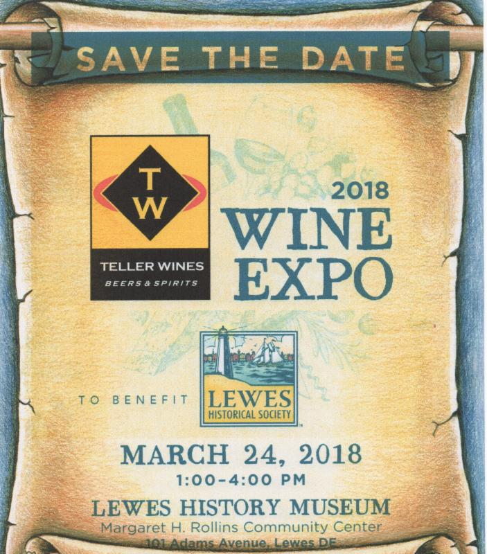 Teller Wines Expo 2018 @ Lewes History Museum | Lewes | Delaware | United States