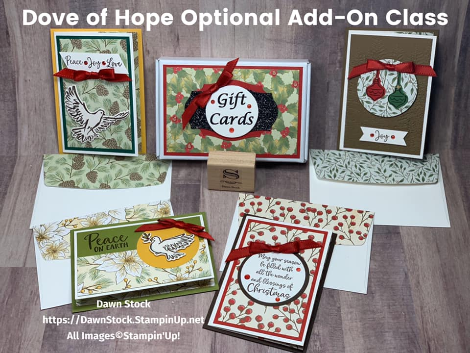 Optional Add On Class Dove of Hope