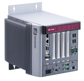 Fanless F213 embedded computer system with 4 I/O