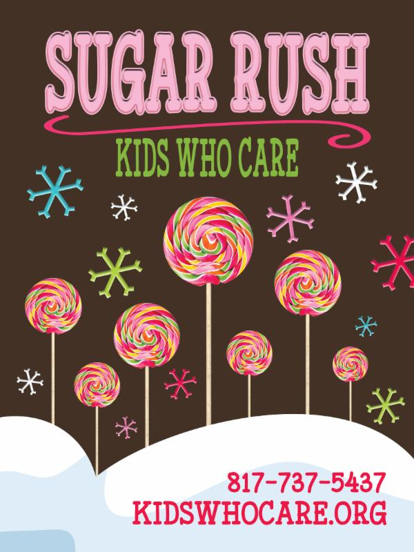 Sugar Rush 2017 Postcard
