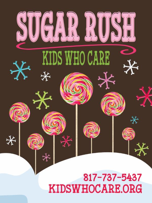 Sugar Rush 2017 Postcard