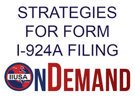 EB-5 Regional Centers 1-924A Filing Reminder
