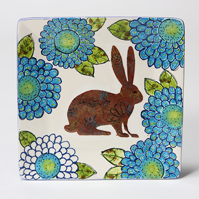 Blue Garden Rabbit