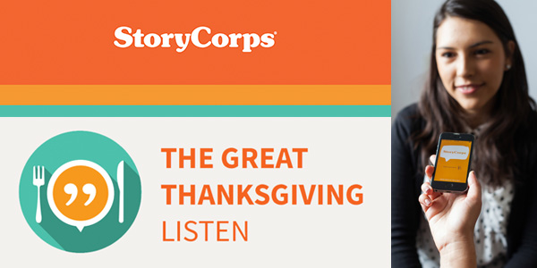 StoryCorps - The Great Thanksgiving Listen