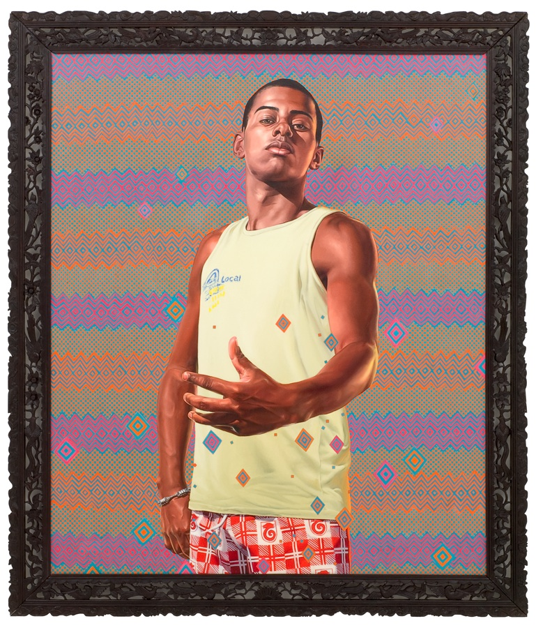 Kehinde Wiley, from Art Through Time