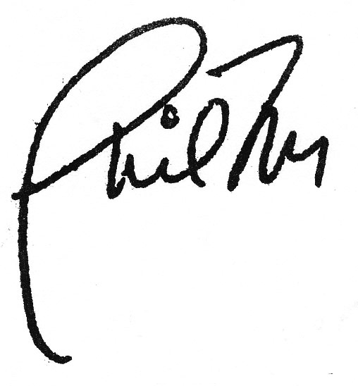 Phil Morgan Signature