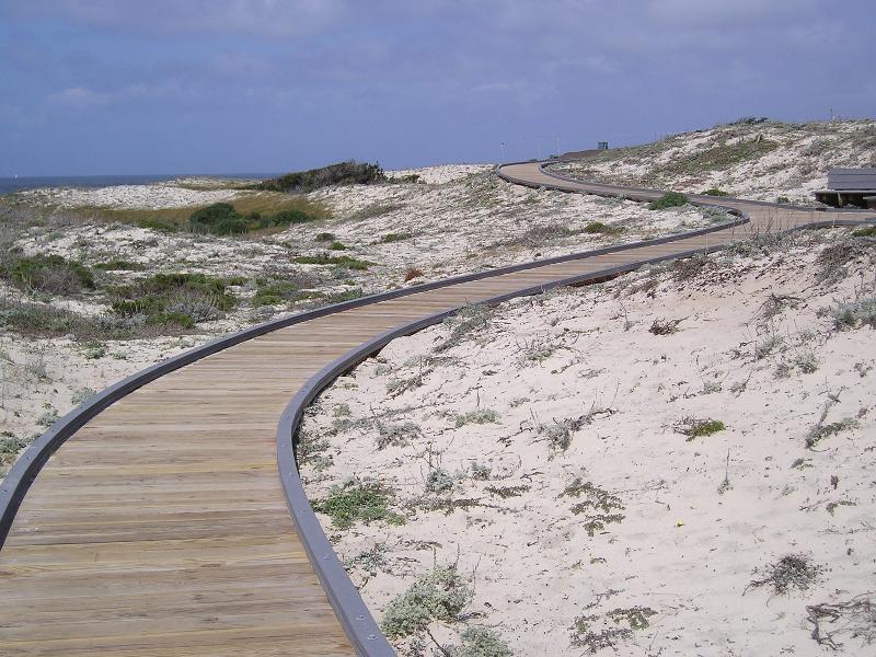 Asilomar 2011 boardwalk