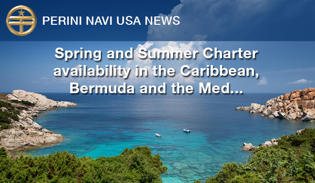 Perini Navi USA News - Charter in the Caribbean Winter 2016/17