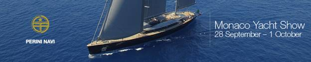 Perini Navi USA will be at the Monaco Yacht Show 28 Sept to 1 Oct, 2016