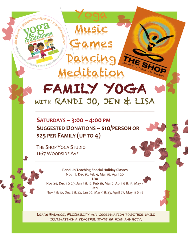 Family Yoga Saturday!