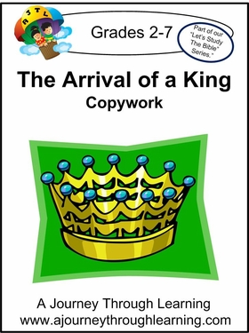 The Arrival of a King Learning Lapbook