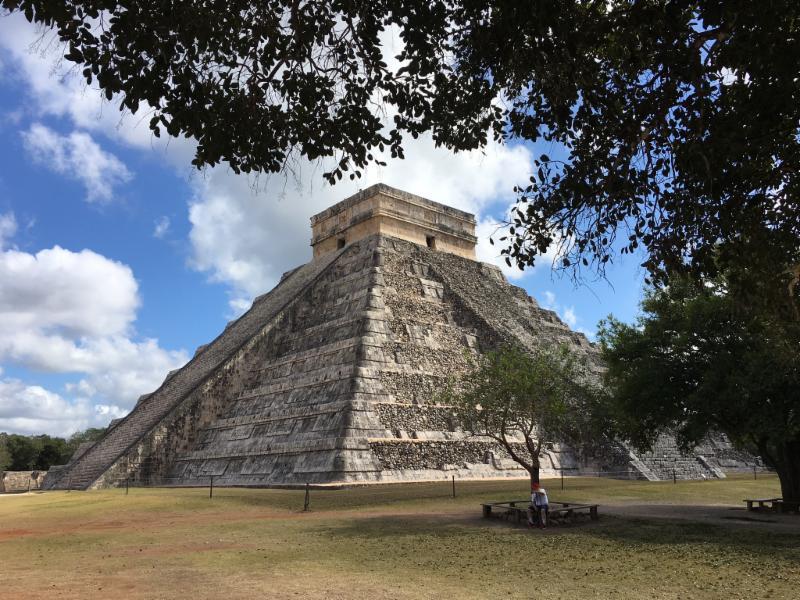 Chichen pyramid