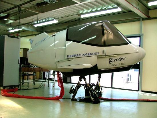 Glyndwr flight simulator