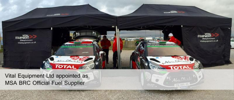 Vital Equipment appointed as MSA BRC Official Fuel Supplier
