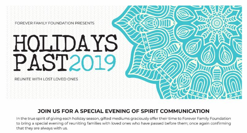Holidays Past 2019 by Forever Family Foundation