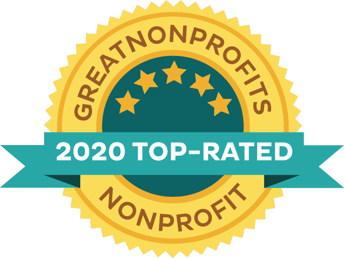 great non profits top rated badge for 2020