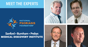 SBP Psoriasis Research Update and Reception