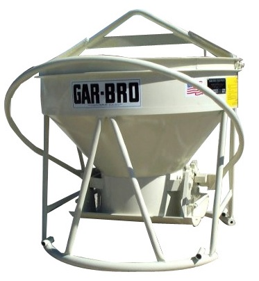 Garbro concrete bucket