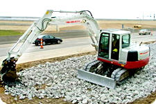Takeuchi mini excavators NY