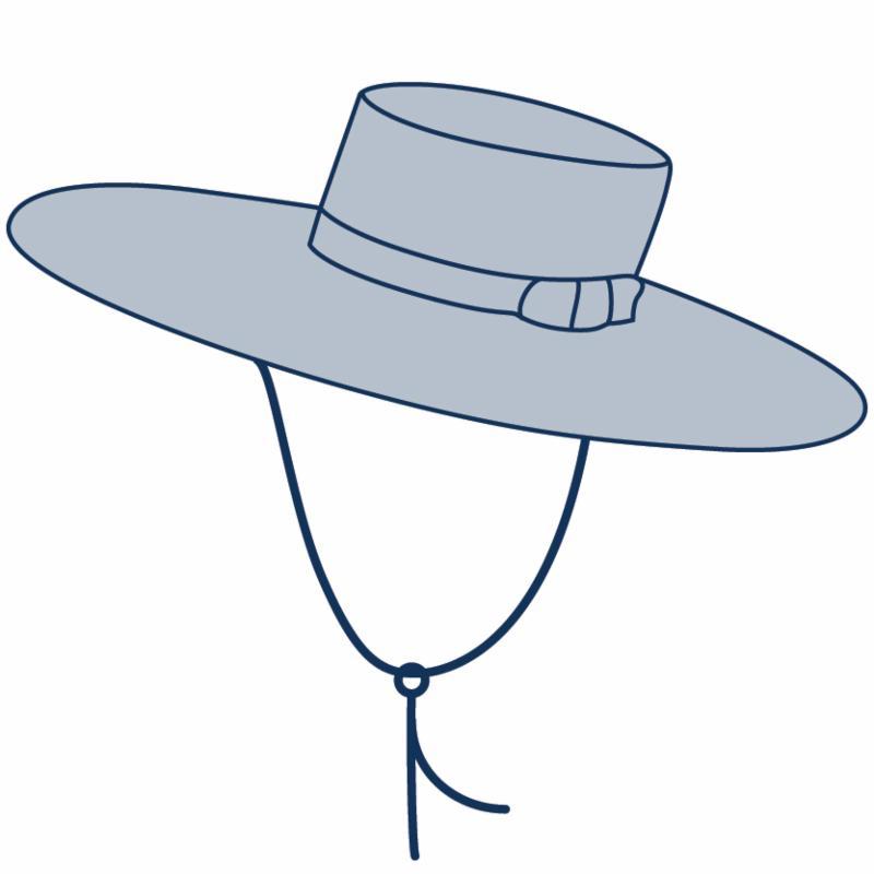 Hat Terminology | DelMonico Hatter
