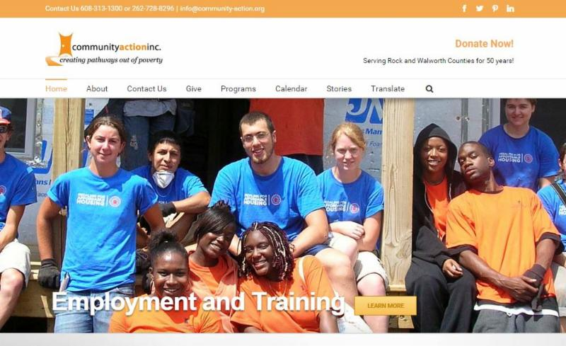 Community Action has a newly-redesigned website!
