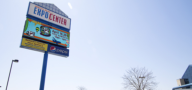 Birch Run Expo Center Installs LED Signs to Improve Business