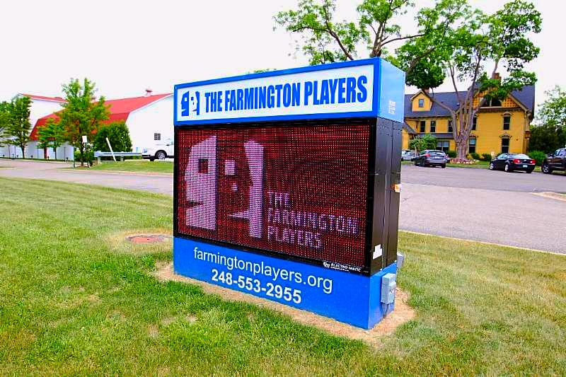 The Farmington Players, LED Signs, LED Sign Board, LED Displays