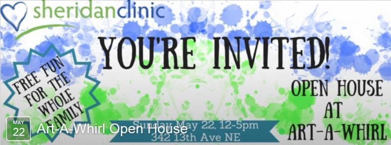 Sheridan Clinic Art A Whirl Open House