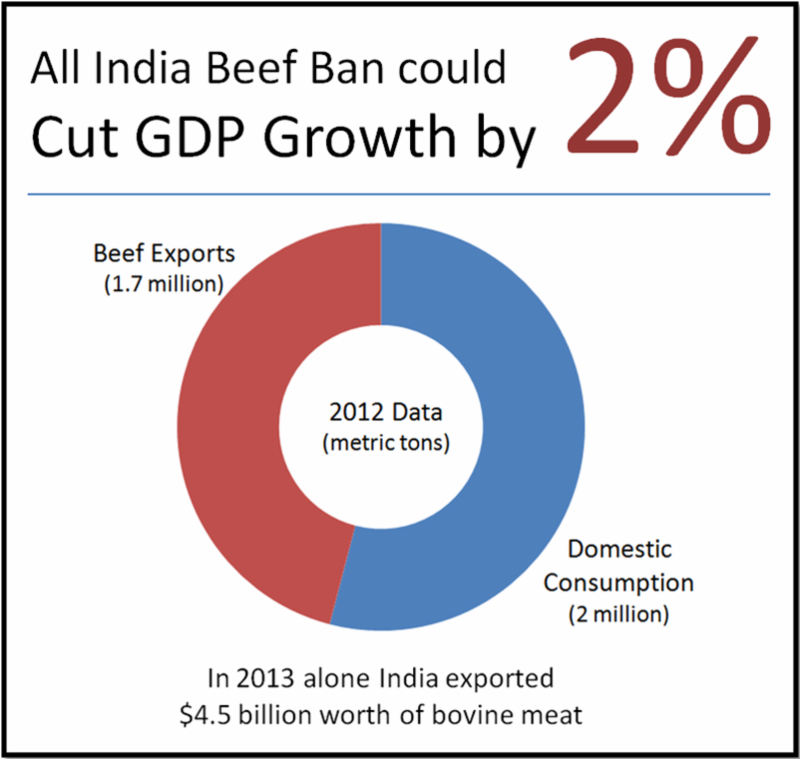 India Must Not Disrupt its Balanced Bovine Economy with a Ban on Beef